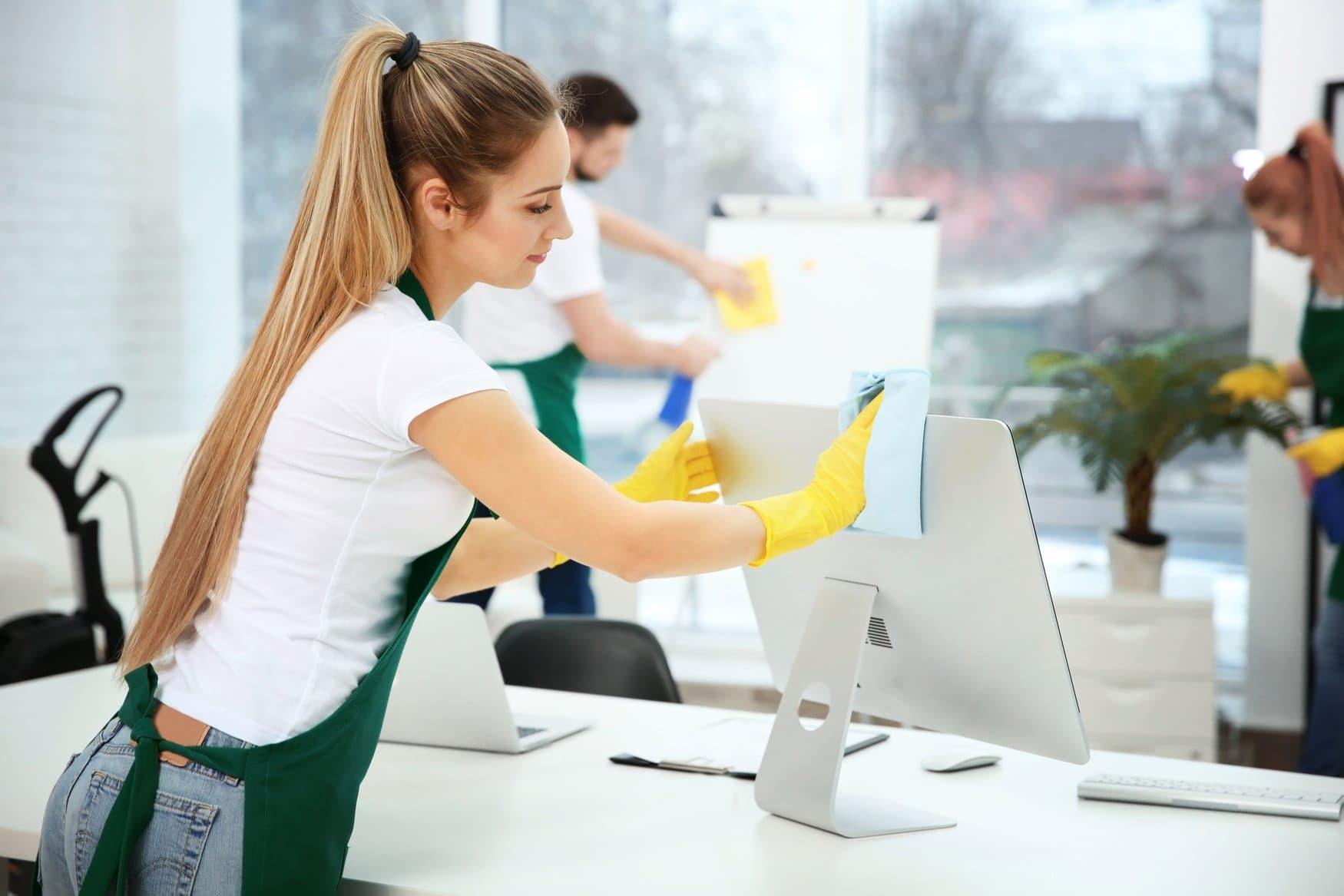 ofis elektronik eşya temizliği